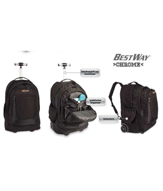 Trolley πλάτης Laptop BestWay 40154