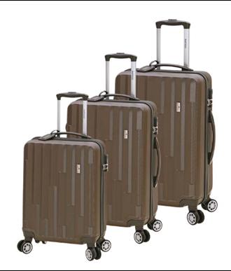 Βαλίτσες σκληρές ABS Bartuggi Σετ 8075|3k